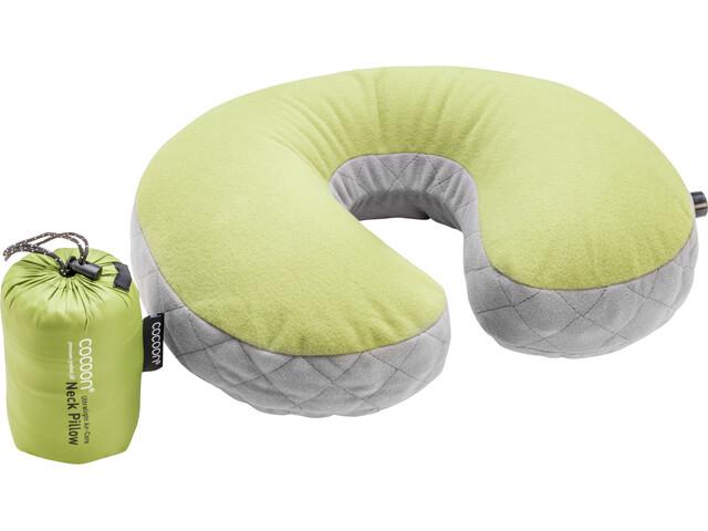 Cocoon Air Core U-Shaped Neck Pillow ultralight, wasabi/grey